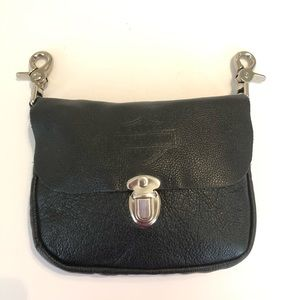 Harley Davidson leather hip pouch